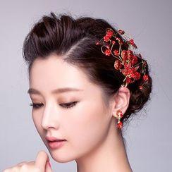 Suaylla - Peacock Bridal Hair Clip