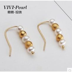 ViVi Pearl - 14K Gold Filled Freshwater Pearl Earrings
