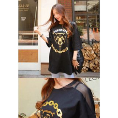 REDOPIN - Tiger Print T-Shirt