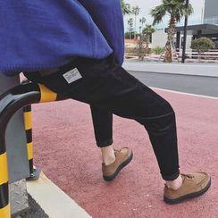 Arthur Look - Corduroy Tapered Pants