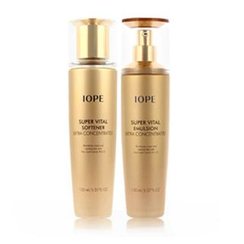 IOPE - Super Vital Set: Softener 150ml + Emulsion 150ml
