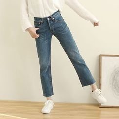 Mushi - Cropped Jeans