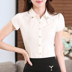 Caroe - Short-Sleeve Blouse