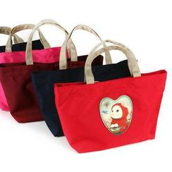 BABOSARANG - 'Choo Choo Dolly' Cat Series Pouch Tote