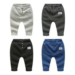 WellKids - Kids Fleece-Lined Harem Pants