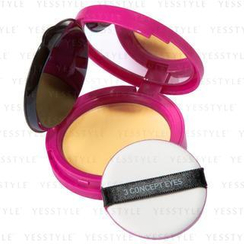 3 CONCEPT EYES - Pink Creamy Compact Foundation (#23 Medium Beige)