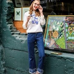 Maeve - Boot-Cut Jeans