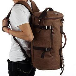 Moyyi - Convertible Canvas Duffel Bag