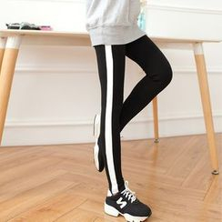 DORRIE - Color Block Leggings