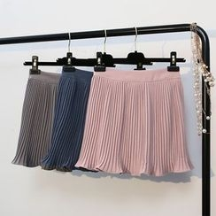 KANAMI - Pleated Skirt