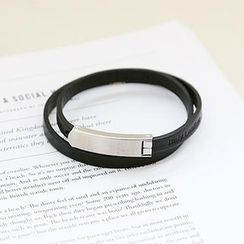 NANING9 - Genuine Leather Bracelet