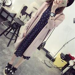 Qimi - 純色長外套
