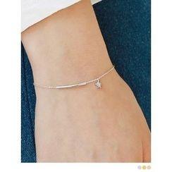PINKROCKET - Pipe Silver Bracelet