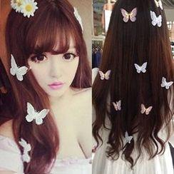 Gold Beam - Butterfly Hair Clip