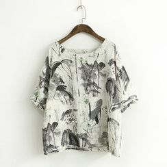 Ranche - Printed Short-Sleeve T-Shirt