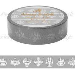 Aimez le style - Aimez le style Masking Tape Primaute Regular Chandelier Silver