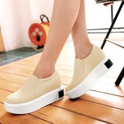 Pastel Pairs - Platform Slip Ons