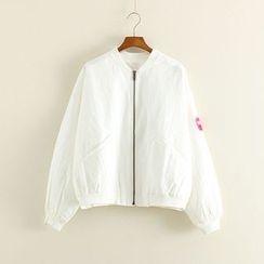 Mushi - Pocketed Zip Jacket
