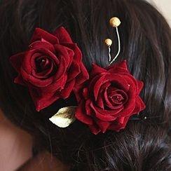 Neostar - 新娘花形髪梳