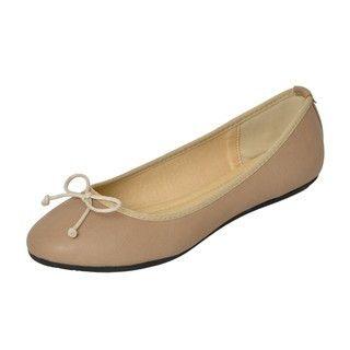 YesStyle Footwear - Bow-Detail Ballet Flats