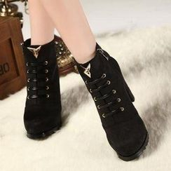 Mancienne - Metal-Tip Short Boots
