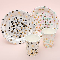 Mulin Arts & Crafts - Disposable Party Plates / Cups