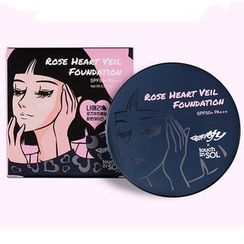 touch in SOL - Go, Hani! Rose Heart Veil Foundation SPF50+ PA+++ 15g