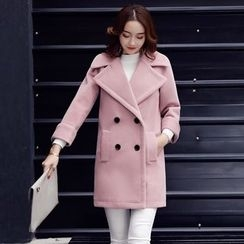 AiSun - Woolen Long Coat