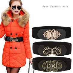 Charm n Style - Embellished Buckled Belt