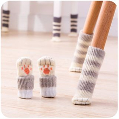 Momoi - Knit Chair Leg Cover Set (4 pcs)