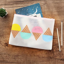Cutie Bazaar - Ice Cream Print Pouch
