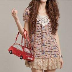 Zosia - 印花雪紡連衣裙