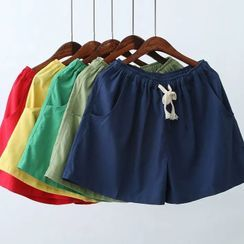 Storyland - Drawstring-Waist Loose-Fit Shorts