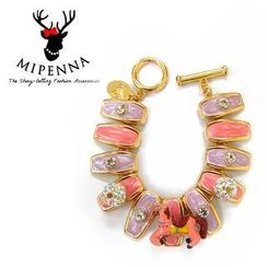 MIPENNA - Pink Horse Bracelet