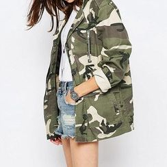 Richcoco - Camouflage Jacket