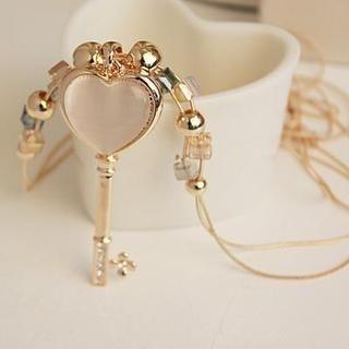 Love Generation - Heart Key Necklace