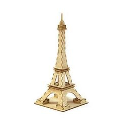 Team Green - Plywood Puzzle  - Eiffel Tower (S)
