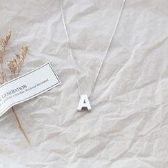 Love Generation - Alphabet Pendant Necklace
