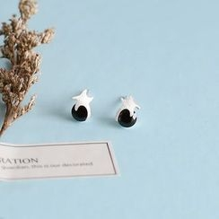 Love Generation - Starfish Agate Stud Earrings