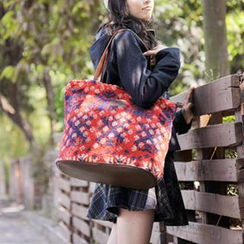 SUPER LOVER - Nordic-Pattern Tote