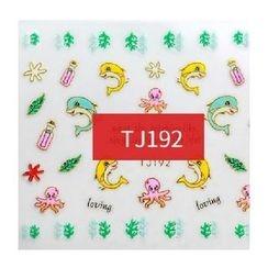Maychao - Nail Sticker (TJ177)