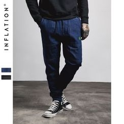 Newin - Embroidered Slim-Fit Jeans