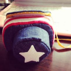 Photo Fun - Star Pattern Camera Pouch
