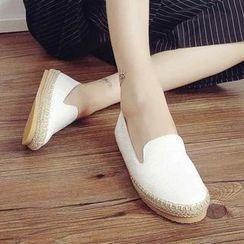 Pangmama - Genuine Leather Slip-Ons