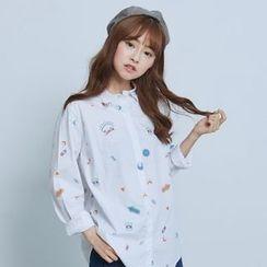 BAIMOMO - Printed Shirt