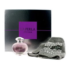La Perla - Divina Glmbiker Coffret: Eau De Toilette Spray 50ml/1.7oz + Gloves with Silver Sequins