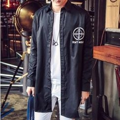 Consto - Lettering Button Jacket