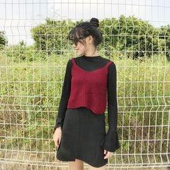 HELLO KANO - 无袖针织上衣