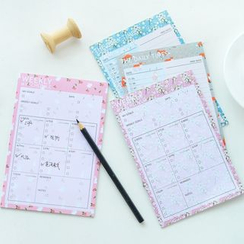 Hera's Place - Mini Schedule Note Pad