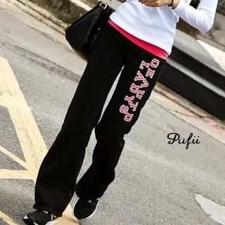 PUFII - Printed Sweat Pants